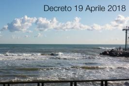 Decreto 19 aprile 2018