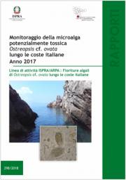Monitoraggio della microalga potenzialmente tossica Ostreopsis 2017