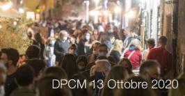 DPCM 13 Ottobre 2020