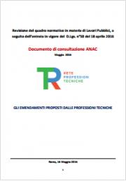 Revisione quadro normativo Lavori Pubblici: servizi architettura e ingegneria