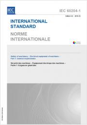 IEC 60204-1:2016 Allegato I: Documentazione equipaggiamenti elettrici macchine