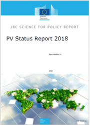 Photovoltaics status report 2018