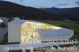 UNI EN 15643-5:2017 Valutazione della sostenibilità degli edifici