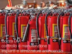Bozza DM controllo e manutenzione impianti e attrezzature antincendio