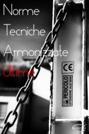 Norme Armonizzate Luglio / Dicembre 2016