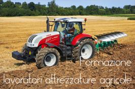 Formazione lavoratori attrezzature agricole