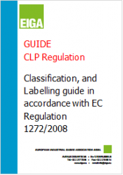 Guide CLP Regulation - EIGA