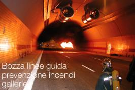 Linee guida prevenzione incendi gallerie | Bozza 2018