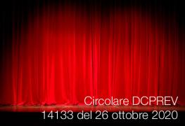 Circolare DCPREV 14133 del 26 ottobre 2020