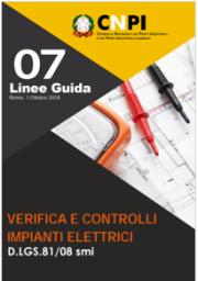 CNPI | Linea guida verifica e controlli impianti elettrici