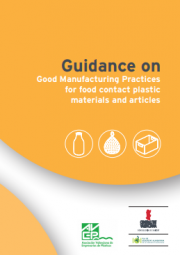 Guidance GMP food contact plastic materials and articles