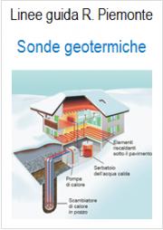Linee guida regionali per l'installazione e la gestione delle sonde geotermiche