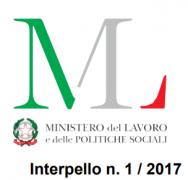 Interpello 13 dicembre 2017, n. 1