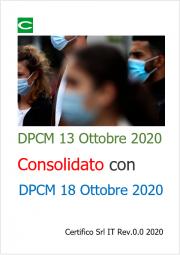DPCM 13 Ottobre 2020 | Consolidato