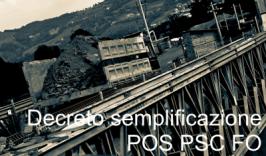 Decreto Interministeriale 9 Settembre 2014 (POS / PSC / FO)