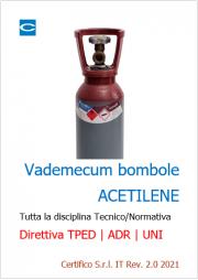 Vademecum bombole Acetilene