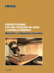 Cortine flessibili per foro-fresatrici da legno a controllo numerico