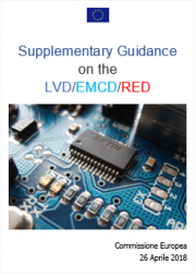 Supplementary Guidance on the LVD/EMCD/RED