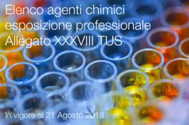 Elenco di valori indicativi di esposizione professionale agenti chimici