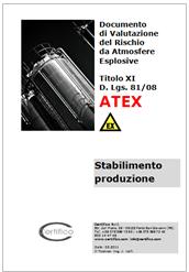 Documento di Valutazione del Rischio ATEX