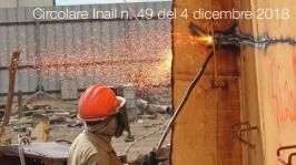 Circolare Inail n. 49 del 4 dicembre 2018
