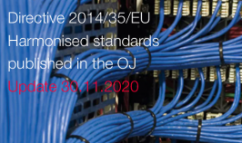 Directive 2014/35/EU: Harmonised standards published in the OJ