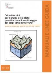 Criteri tecnici analisi monitoraggio corpi idrici sotterranei