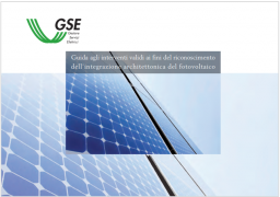 Guida integrazione architettonica del fotovoltaico