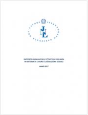 Rapporto annuale Ispettorato Nazionale del Lavoro 2017