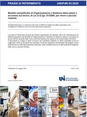 UNI/PdR 83/2020 MOG micro e piccole imprese