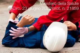 Ministero della Salute circ. 23 giugno 2020 prot. n. 21859
