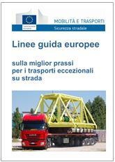 Linee guida europee trasporti eccezionali su strada