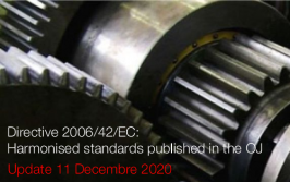 Directive 2006/42/EC: Harmonised standards published in the OJ