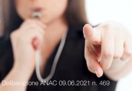 Delibera ANAC 09 giugno 2021 n. 469