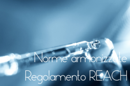 Norme armonizzate REACH Gennaio 2017