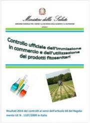 Controlli ufficiali 2016 prodotti fitosanitari