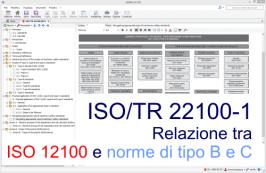 ISO/TR 22100-1: Relazione tra ISO 12100 e le norme di tipo B e C - Testo Requisiti pdf