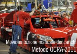 Checklist OCRA: Aggiornamento di procedure e di criteri di applicazione
