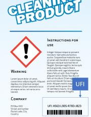 Il Codice UFI per le etichette dei prodotti di miscele pericolose (CLP)