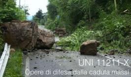 UNI 11211-X: Opere di difesa dalla caduta massi
