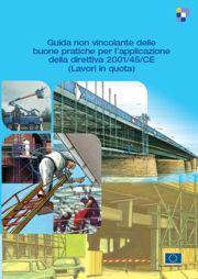 Guida Direttiva 2001/45/CE Lavori in quota - Ed. 2008