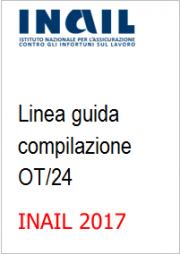 Linea guida OT24 riduzione premio INAIL 2017