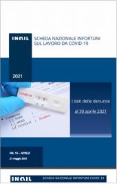 Covid-19 | Contagi sul lavoro denunciati all'INAIL: Schede regionali 30 Aprile 2021