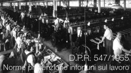 DPR 547/1955 integrato nel D.Lgs 81/2008