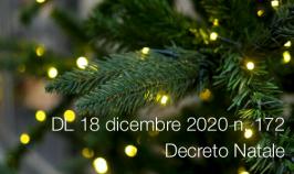 Decreto-Legge 18 dicembre 2020 n. 172
