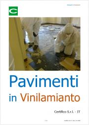 Pavimenti in vinil amianto: Individuazione, gestione e bonifica