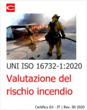 UNI ISO 16732-1:2020 | Valutazione del rischio incendio