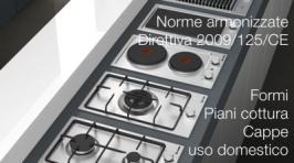 Norme armonizzate Direttiva Ecodesign 2009/125/CE Aprile 2017: forni, piani cottura e cappe