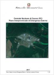 Piano Emergenza Esterno Centrale Nucleare di Caorso