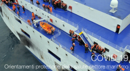 COVID 19 | Orientamenti protezione della salute settore marittimo